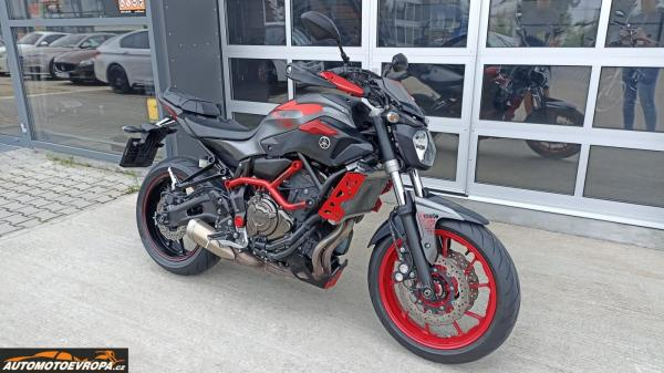Prodej Yamaha MT-07 Moto Cage Původ ČR, 1. majitel